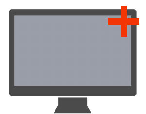 remote support netx xvue® computer icon